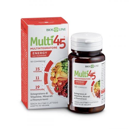 Bio 45 Micronutrienti Energy con Guaranà