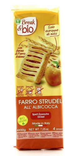 Break & Bio - Farro Strudel all'Albicocca