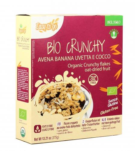 Bio Crunchy Avena Banana Uvetta e Cocco
