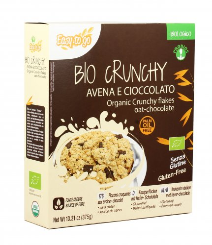 Bio Crunchy Avena E Cioccolato