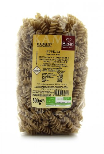 Fusilli KAMUT® - grano khorasan Integrale Bio