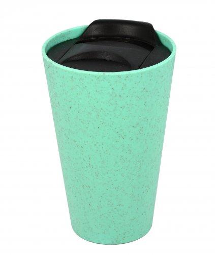 Bio Tazza Mug con Tappo in Plastica