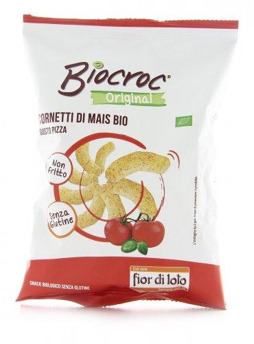 Cornetti di Mais Gusto Pizza Biocroc -  Senza Glutine
