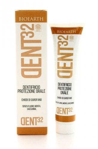 Dent32 - Dentifricio Protezione Orale - Chiodi di Garofano