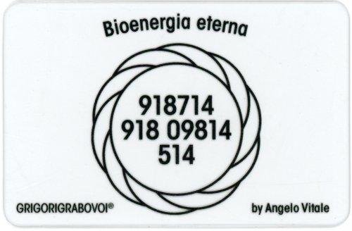 Tessera Radionica 76 - Bioenergia Eterna