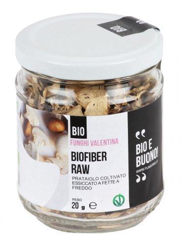 Biofiber Raw - Prataiolo Coltivato Bio Essiccato