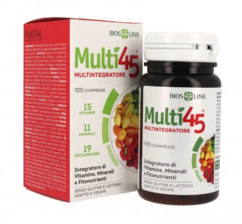 Bio 45 Micronutrienti Energy Senza Glutine