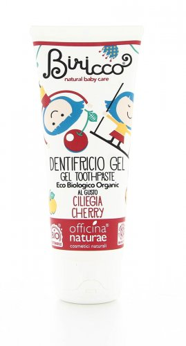 Dentifricio Naturale per Bambini Ciliegia - Biricco