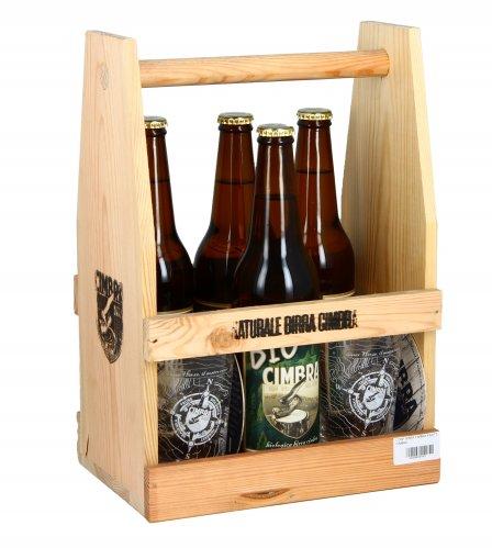 Confezione Birra Cimbra 4 Bottiglie con 2 Bicchieri