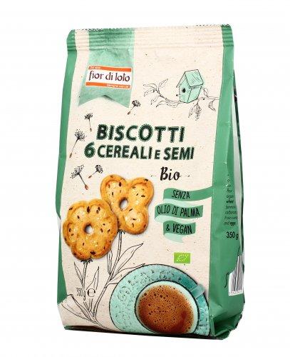 Biscotti ai 6 Cereali e Semi Bio