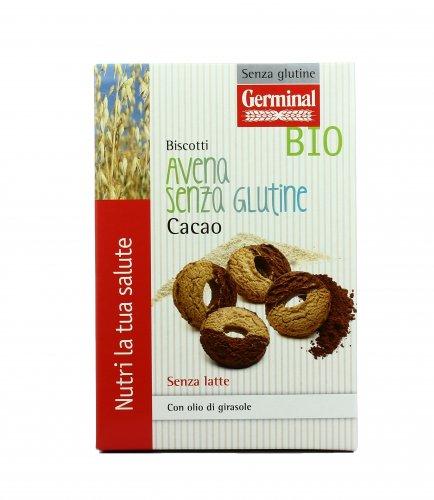 Biscotti Avena e Cacao Bio - Senza Glutine