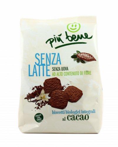Biscotti Bio Integrali al Cacao