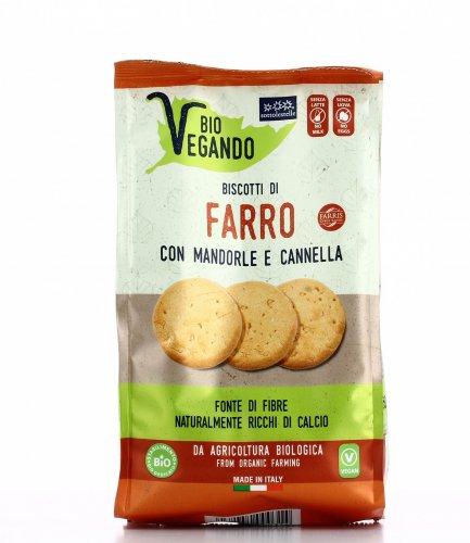 Biscotti di Farro con Mandorle e Cannella - Bio Vegando