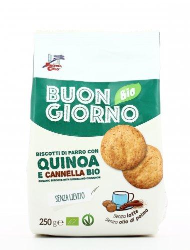 Buongiorno Bio - Biscotti di Farro con Quinoa e Cannella Bio