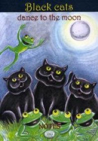 Notes - Black Cats Dance To The Moon