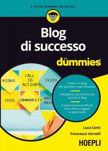Blog di Successo for Dummies (eBook)