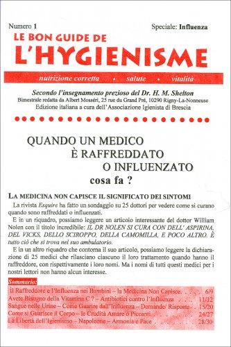 La Bon Guide de l'Hygienisme - Numero 1 - Speciale Influenza