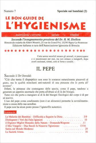 La Bon Guide de l'Hygienisme - Numero 7 - Speciale Bambini (2)