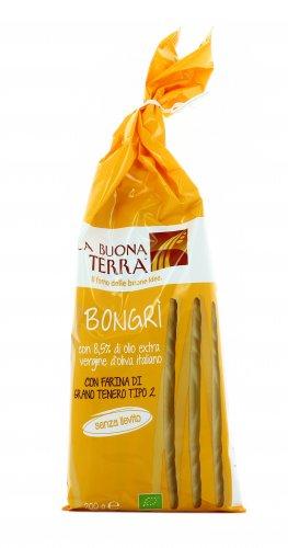 Grissini Bio di Grano Tenero Tipo 2 - Bongrì