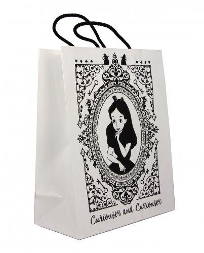 Borsetta - Shopper - Alice in Wonderland