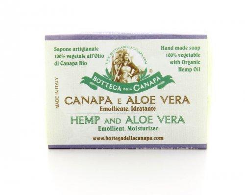 Sapone Artigianale - Canapa e Aloe Vera