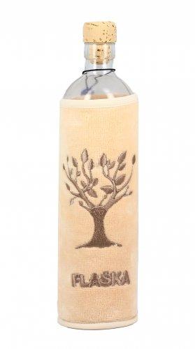 Bottiglia Vetro Programmato Natural Eco - Albero della Vita