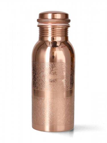 Bottiglia in Rame - Yogi e Yogini