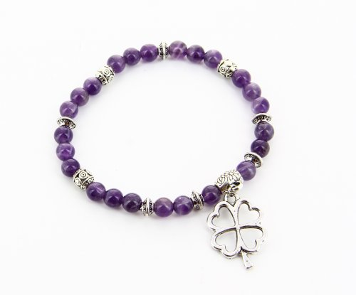 Bracciale Charms - Ametista