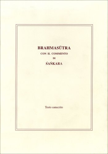 Brahmasutra - Cofanetto 2 volumi