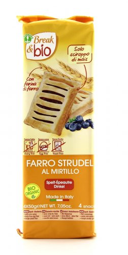 Break & Bio - Farro Strudel al Mirtillo