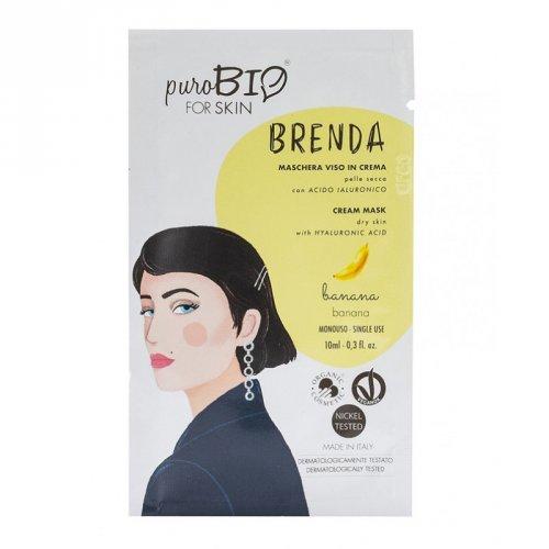 Maschera Viso in Crema Pelle Secca - Brenda
