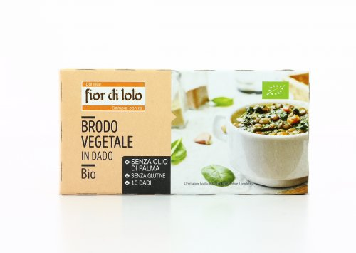 Brodo Vegetale in Dado Bio