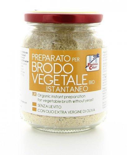 Brodo Vegetale Istantaneo Senza Lievito