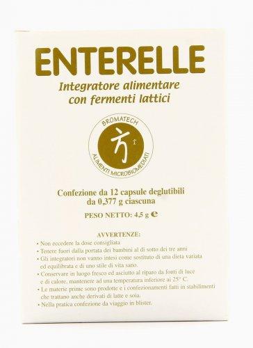 Enterelle - Integratore Alimentare con Ingredienti Probiotici