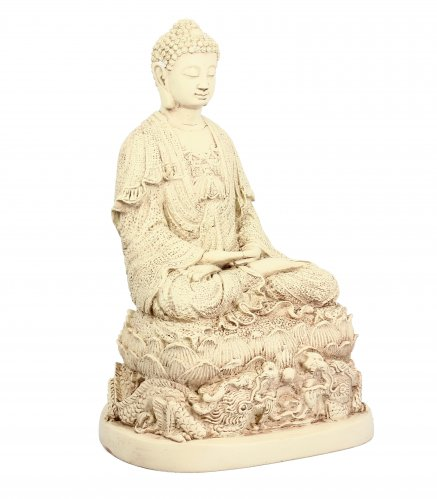 Statuetta Buddha Base del Drago - Buddha Dragon Base