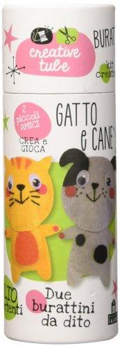 Burattini da Dito - Gatto e Cane
