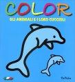 Color gli Animali e i Loro Cuccioli - Blu