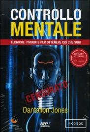 CONTROLLO MENTALE (4 CD MP3) Tecniche proibite per ottenere ciò che vuoi di Dantalion Jones