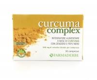 CURCUMA COMPLEX Curcuma, zenzero e pepe nero, naturalmente senza glutine di Curcuma, zenzero e pepe nero, naturalmente senza glutine