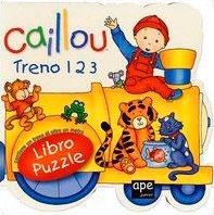 Caillou - Treno 1, 2, 3