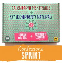 Calendario Mestruale + Kit Assorbenti Naturali - Sprint