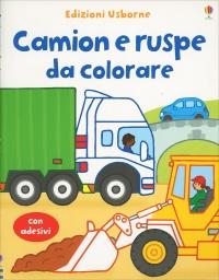 Camion e Ruspe da Colorare