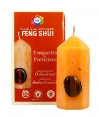 Candela Feng Shui - Occhio di Tigre