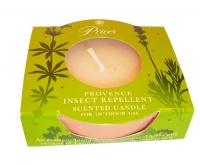 Candela Piccola in Vaso di Terracotta - Repellente per Zanzare