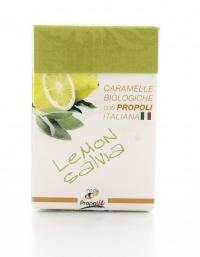 Caramelle Biologiche con Propoli al Limone E Salvia