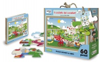 Il Castello dei Cavalieri - Libro Puzzle