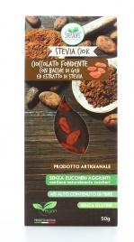 Cioccolato ExtraFondente con Bacche di Goji e Estratto di Stevia - Conf. Flowpack