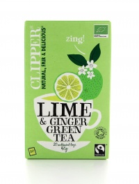 Clipper - Tè Lime e Zenzero Bio