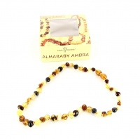 Collanina - Almababy Ambra Rounded Multicolor