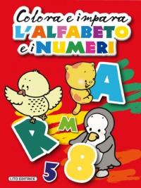 Colora e Impara l'Alfabeto e i Numeri